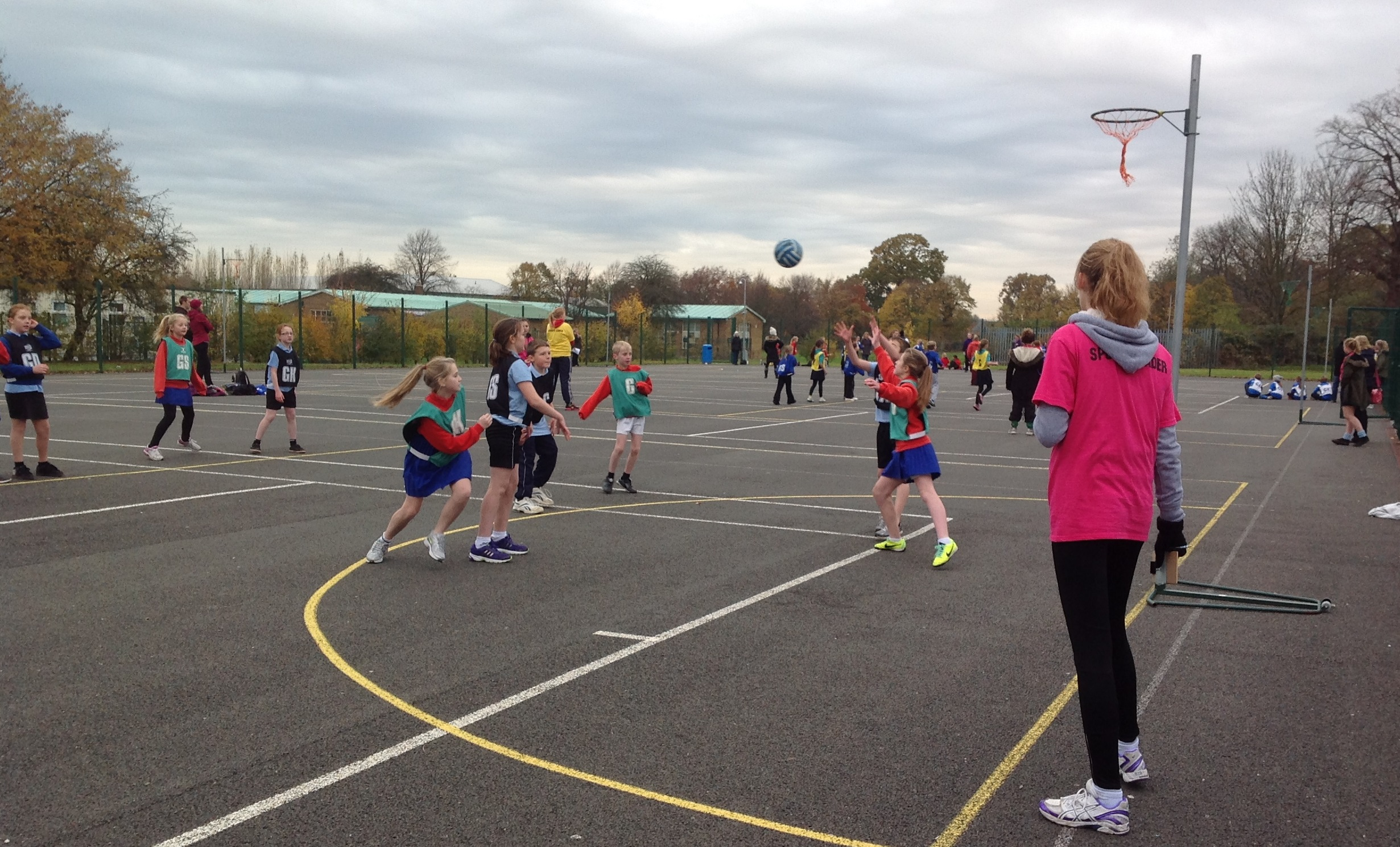 Upcoming Events High 5s Netball Longsands School 19 April 2016 A Teams Competition
