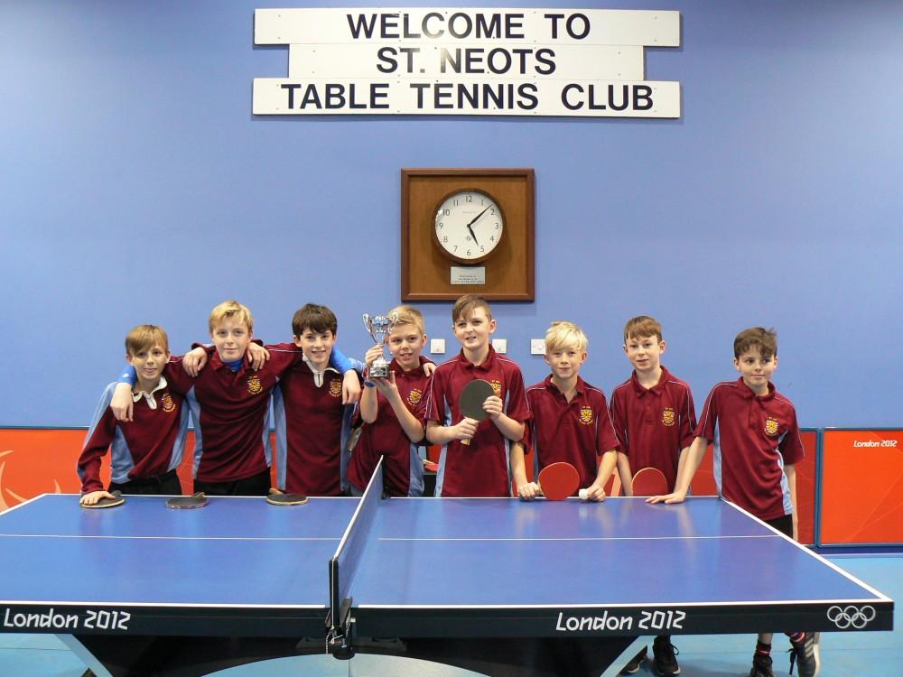 Year 7B Table Tennis 2018 048