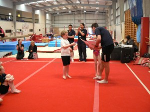 Gymnastics Comp&Netball Leaders 185