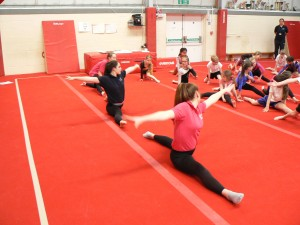 Gymnastics Comp&Netball Leaders 213