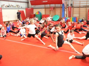 Gymnastics Comp&Netball Leaders 214