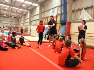 Gymnastics Comp&Netball Leaders 446