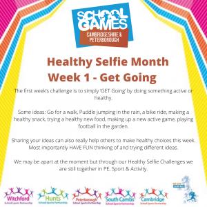 Healthy Selfie Week 1